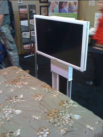 Cool New Under Bed Flat Panel Mount Home Cinema Guru